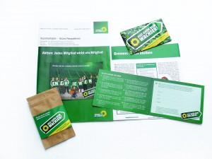 """Kampagne """"Hilf Grün beim Wachsen"""""""