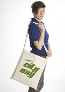 Cotton CityBag - Fairtrade Stofftasche aus Biobaumwolle