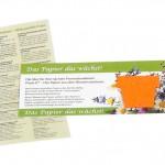 Samenpapier MailingCard Shape