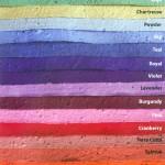 Samenpapier Farben