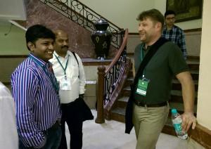 Avinash und Jochen